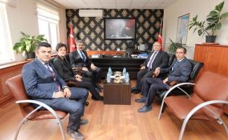 Vali Nayir'den Kurumlara Ziyaret