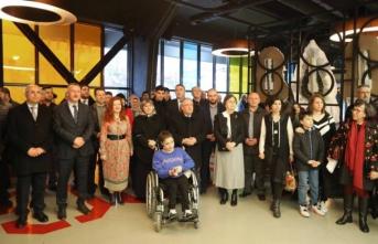 Vali NAYİR OSM'deki Serginin açılışına katıldı