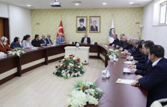 İl Göç Kurulu Vali Nayir Başkanlığında Toplandı