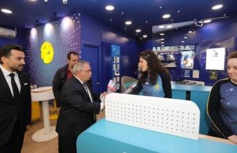 Vali Nayir'den İletişim Firmalarına Geçmiş Olsun Ziyareti