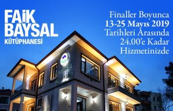 Finallere hazırlığın adresi: Faik Baysal