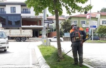 Karasu Belediyesi Park ve Bahçeler Müdürlüğünden Hummalı Çalışma