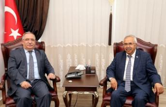 Sivas Milletvekili Soluk'tan Vali Nayir'e Ziyaret