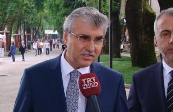 Başkan Yüce'den Depremle İlgili Açıklamasını TRT HABER'e Yaptı