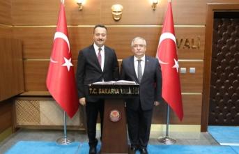 Bilecik Valisi Şentürk'ten Vali Nayir'e Ziyaret