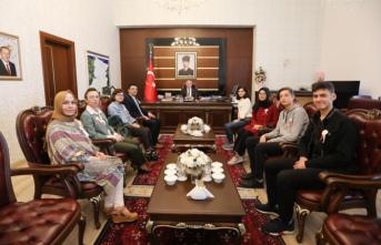 Çocuk Hakları Komitesinden Vali Nayir'e Ziyaret