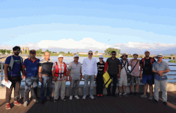 Sakarya Nehri Gönüllüleri Teknik Gezi İçin İlimizde