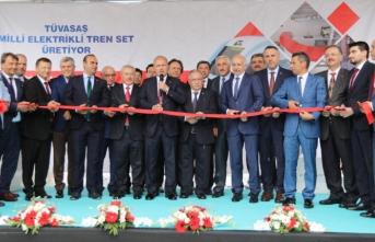 TÜVASAŞ Bünyesindeki Fabrika Törenle Açıldı