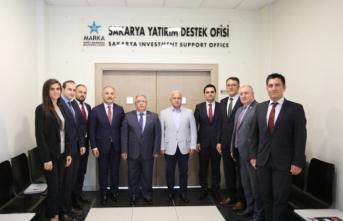 Vali Nayir SATSO'daki Yatırım Destek Ofisini Ziyaret Etti