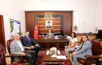 BM Dünya Gıda Programı Bölge Müdüründen Vali Nayir'e Ziyaret