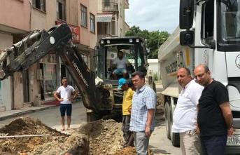 Karasu Belediye Başkanı İshak Sarı Çalışmaları Yerinde İnceledi