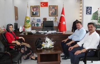 Kaymakam Çiçekli'den Başkan Gündoğdu'ya Ziyaret