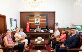 Kültür ve Turizm Bakanlığı Heyeti Vali Nayir'i Ziyaret Etti