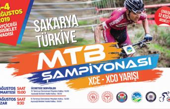Sakarya MTB Şampiyonası Ayçiçeği Bisiklet Vadisi'nde
