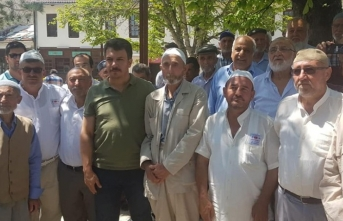 Taraklı'da Hacı Adayları Kutsal Topraklara Uğurlandı