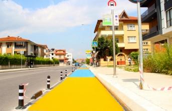 Bisiklet yolları standartlara uygun hale getirildi