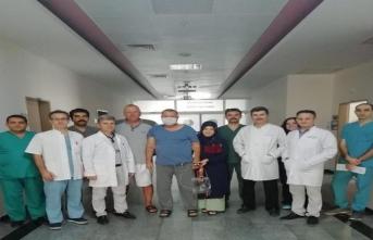 Böbrek Nakli Merkezinden bir ilk daha: Yüksek riskli hasta böbrek nakli yapıldı