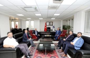 Eskişehir Valisi Çakacak'tan Vali Nayir'e Ziyaret