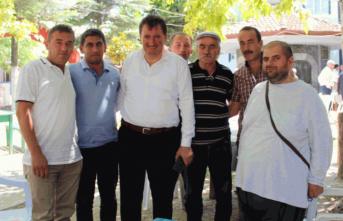 Ferizli'de Protokol ile halk bayramlaştı