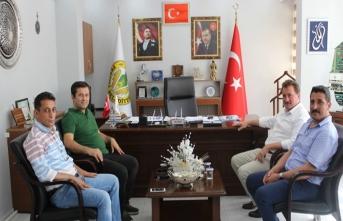 Hakan Yavuz ERDOĞAN'dan Başkan Gündoğdu'ya Ziyaret