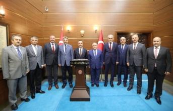 Tarım ve Orman Bakan Yardımcısı Özkaldı'dan Vali Nayir'e Ziyaret
