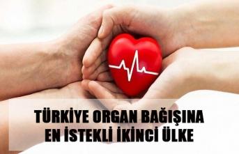 Türkiye organ bağışına en istekli ikinci ülke