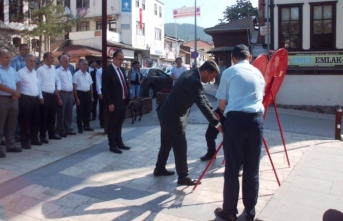 Zafer Bayramı'nın 97. yıldönümü Taraklı'da da törenlerle kutlandı