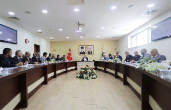 Bağımlılıkla Mücadele Toplantısı Vali Nayir Başkanlığında Gerçekleştirildi