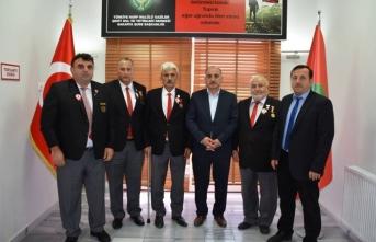 Başkan Kılıç Gazileri Ziyaret Etti
