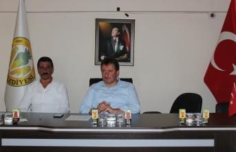 Ferizli Belediyesi Muhtarları Bilgilendirme Toplantısı düzenledi