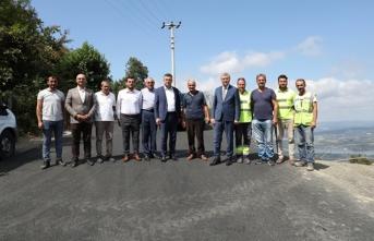 Konforlu ve rahat ulaşımlar için asfalt çalışmalarımız sürecek