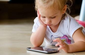 Tablet ve Telefonlar çocukları mutsuz ediyor!