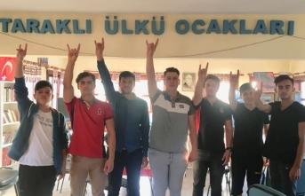Taraklı ülkü ocakları 12 Eylül şehitlerini anma etkinliği düzenledi