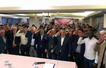 15 Temmuz Milli İrade Derneği;Mehmetçiklerimiz için Dua etti