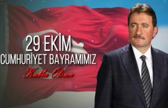 Başkan GÜNDOĞDU'dan 29 Ekim Cumhuriyet bayramı mesajı