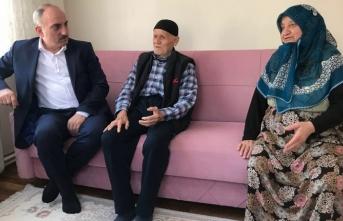Başkan Kılıç'tan yaşlı vatandaşlara ziyaret