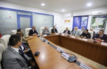 İl Afet ve Acil Durum Koordinasyon Kurulu Toplantısı Gerçekleştirildi