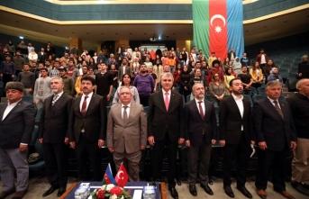 SAÜ'de Azerbaycan Bayrak Günü Etkinliği Düzenlendi