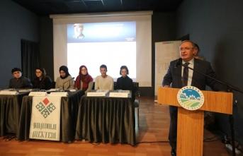 Vali Nayir Anadolu Mektebi Yazar Okumaları Paneline Katıldı