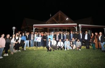 Vali Nayir Türkmen Öğrenci Toplulukları Üyeleri İle Bir Araya Geldi