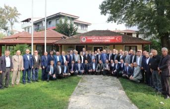 Vali Nayir'den Muhtarlar Federasyonuna Muhtarlar Günü Ziyareti