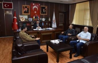"""""""Başkan Sarı, Bilardo Sporu Severleri Ağırladı"""""""