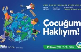 'Çocuk Hakları Etkinlikleri' SGM'de gerçekleştirilecek