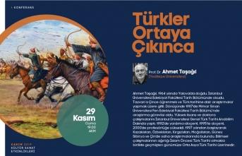 Türkler ortaya çıkınca konferansı AKM'de