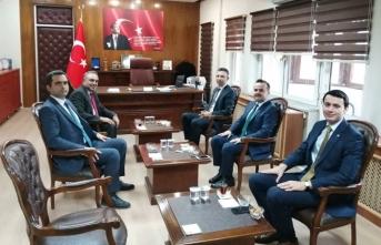 Abdullah Arslantürk'ü ziyaret
