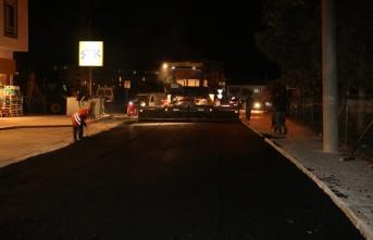 Adapazarı'nın 123 sokağında asfalt tamam