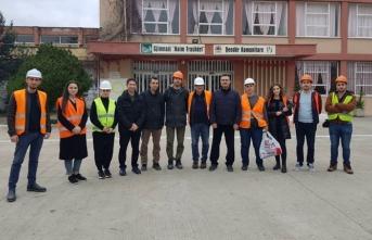 Arnavutluk depremini incelediler