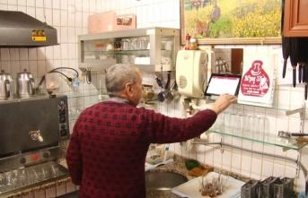 Çay ocağında teknoloji devri