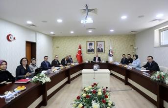 Kadına Yönelik Şiddetle Mücadele İl Koordinasyon Toplantısı Gerçekleştirildi