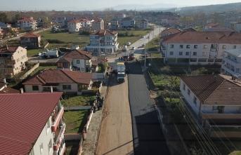 Karasu'da Asfalt Çalışmaları Hız Kazandı